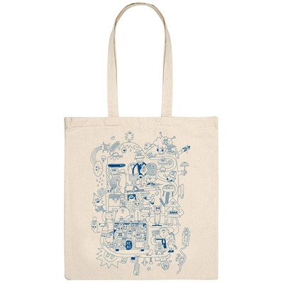 MONSIEUR POULET Hé Ho - Tote Bag - naturel