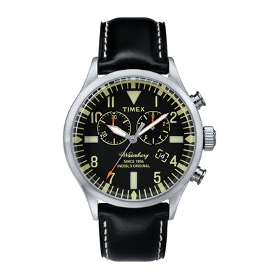 Waterbury Chrono - Montre homme - noir