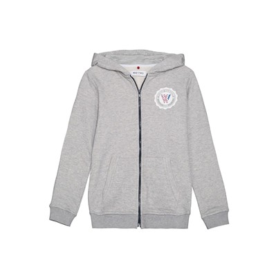 WAP TWO Badge - Sweat à capuche - gris chine