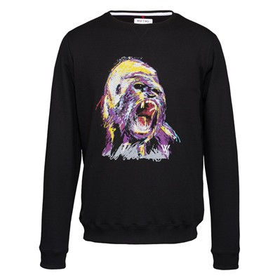 WAP TWO Gorilla - Sweat-shirt - noir