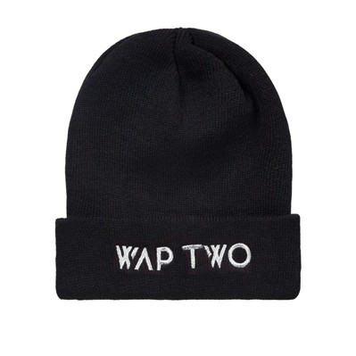 WAP TWO Letters - Bonnet - noir