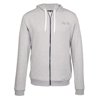 WAP TWO Light - Sweat zippé - gris
