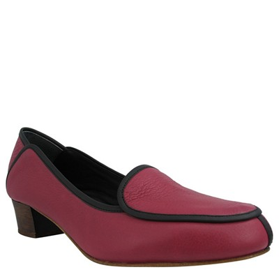 NEW EMILIE - Moccasin - rouge