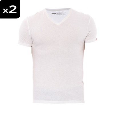 Vneck - Lot de 2 t-shirts - blancs