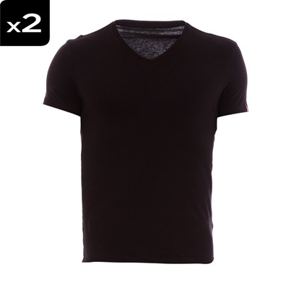 Vneck - Lot de 2 t-shirts - noirs