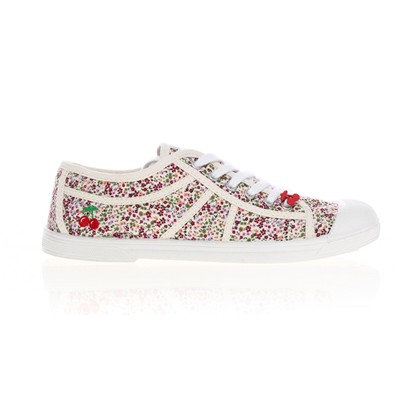 Basic 02 - Tennis - blanc (liberty pink)