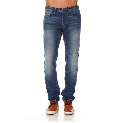 GUESS Klayton Tapered Band - Jean slim - bleu