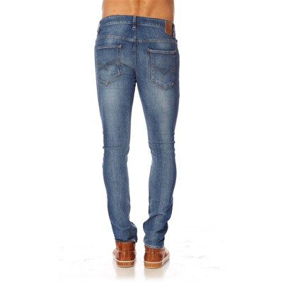 GUESS Degree Power - Jean skinny - bleu