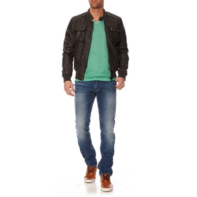GUESS Bomber Cracked - Blouson - gris