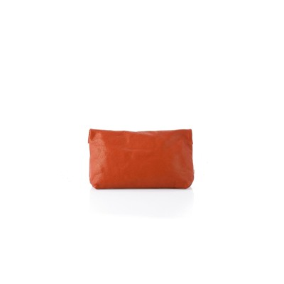 RIPAUSTE Pochette médium en cuir - orange