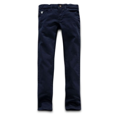 GUESS KIDS Pantalon droit - bleu marine