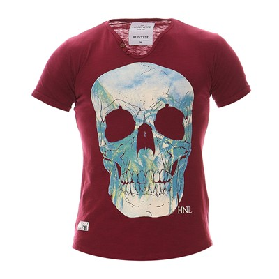 HOPE N LIFE Fazioli - T-shirt - bordeaux