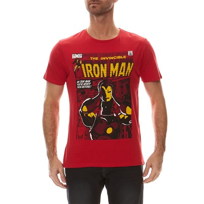 Iron Man - T-shirt - rouge