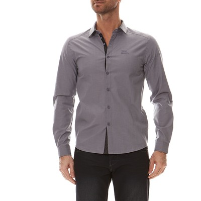 Nuhan - Chemise - anthracite