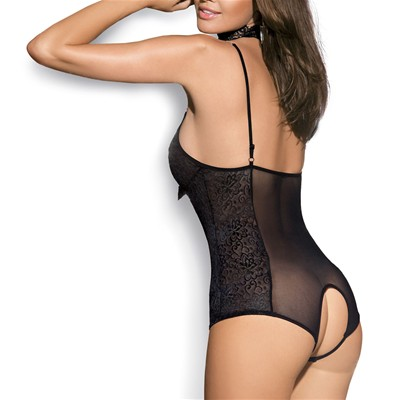 OBSESSIVE Diamond teddy - Body - noir