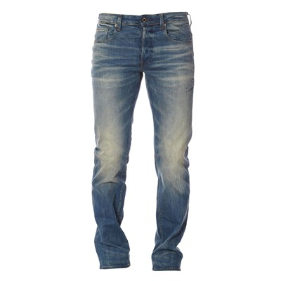G STAR 3301 straight - Jean regular - bleu