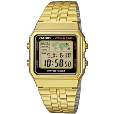 CASIO Collection - Style casual - doré