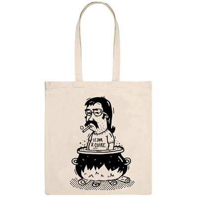 MONSIEUR POULET Dur à cuire - Tote Bag - naturel