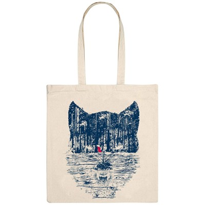 MONSIEUR POULET The trap - Tote Bag - naturel
