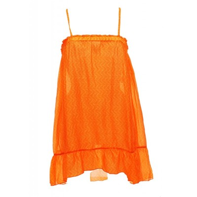 BANANA MOON Silke - Robe de plage en soie - orange