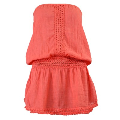 BANANA MOON Stephenson crewe - Tunique bustier - orange