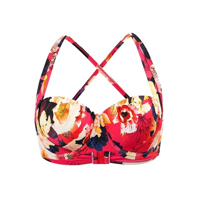 SEAFOLLY Kabuki Bloom - Haut de maillot balconnet - rose