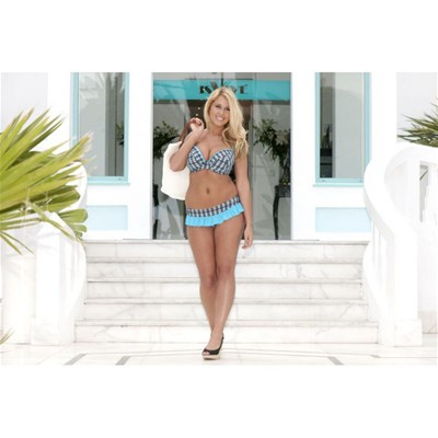CURVY KATE Cocoloco Skirted - Bas de maillot - turquoise