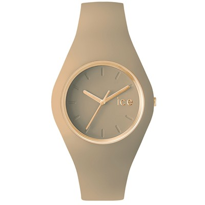 Montre en silicone - marron