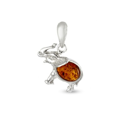 Pendentif, Collier - orange