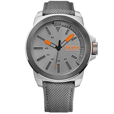 BOSS ORANGE Style sport - gris