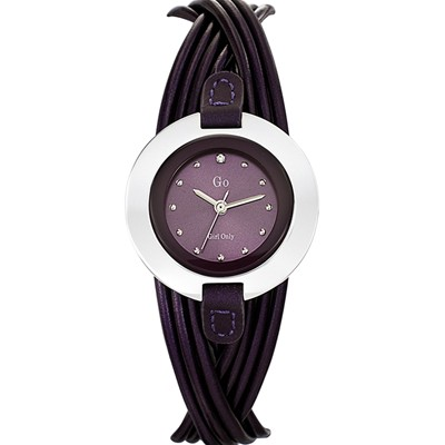 GO GIRL ONLY Montre en cuir - violet