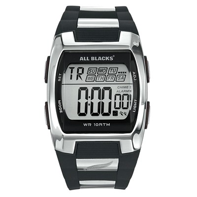 All Blacks montre digitale - noir