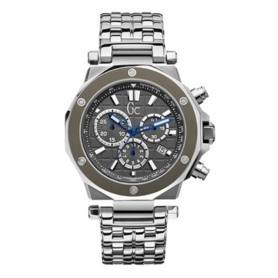 Guess Collection montre homme - argenté
