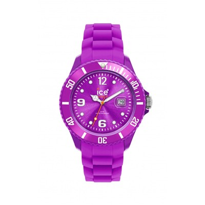Montre en silicone - rose