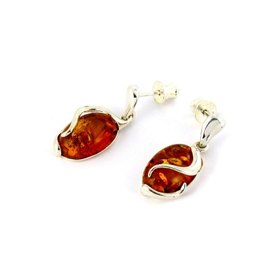 Boucles d'oreilles - orange