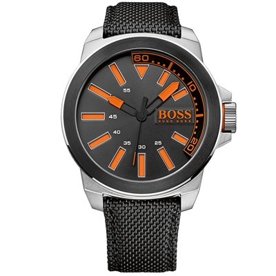 BOSS ORANGE Montre sportive - noir