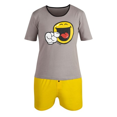 POMM'POIRE Night by Smiley - Ensemble pyjama court - gris