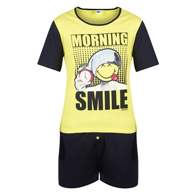 POMM'POIRE Morning Smile - Pyjama - jaune