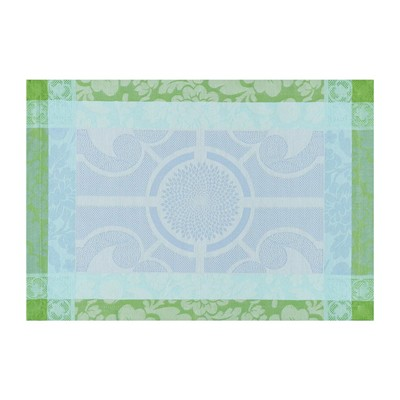 LE JACQUARD FRANÇAIS Jardin Royal Fontaine - Set de table - bleu