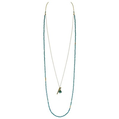 Cristobal - Collier - turquoise