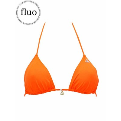 BANANA MOON Febo Flash - Haut de maillot de bain triangle - orange