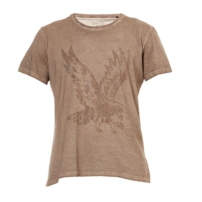 BEST MOUNTAIN T-shirt - beige