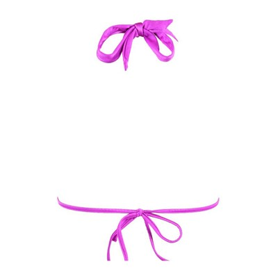 SEAFOLLY Shimmer - Haut de maillot triangle - violet