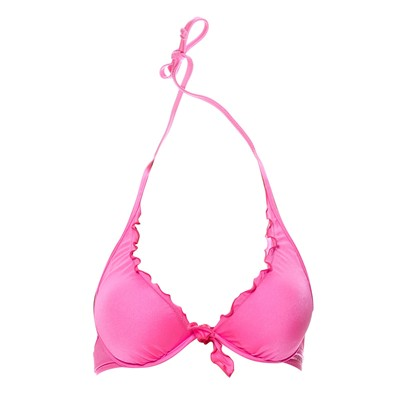 GUESS Haut de maillot triangle - rose
