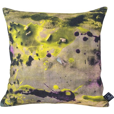 Paréidolie Desert at sunset - Coussin en lin imprimé design - multicolore