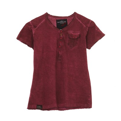 HOPE N LIFE Austri - T-shirt - bordeaux