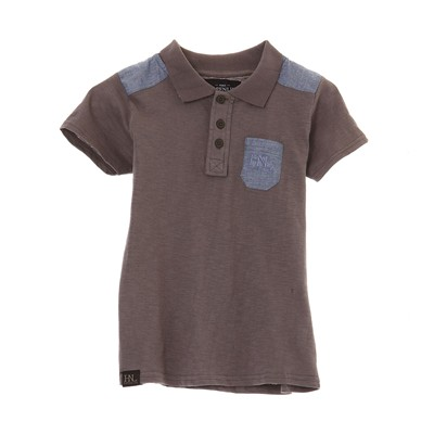 HOPE N LIFE Finot - Polo - anthracite