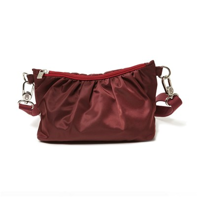 Sac à main femme pochette en nylon Made in France - rouge