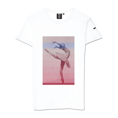 QUATRE CENT QUINZE Dance - T-shirt - blanc