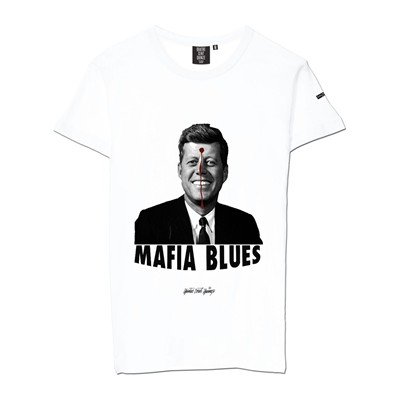 QUATRE CENT QUINZE Mafia Blues - T-shirt - blanc